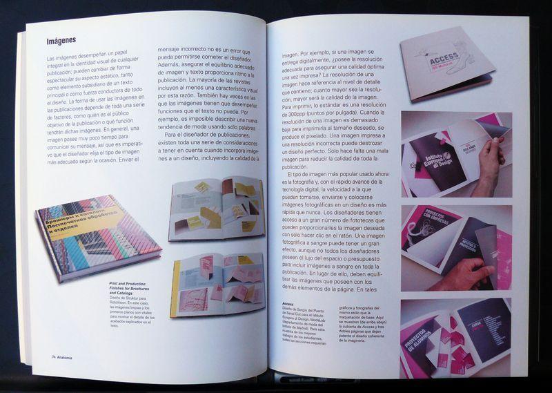 El tratamiento de imágenes y la jerarquía de las fotografías en el diseño de publicaciones.