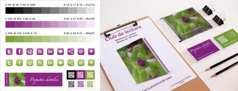 Plan de color para un libro