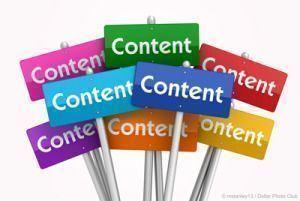 Editorial es sinónimo de contenidos