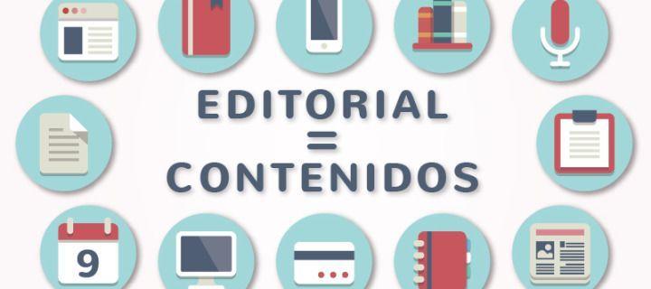 """Editorial"" no se relaciona solo con libros, sino con contenidos"