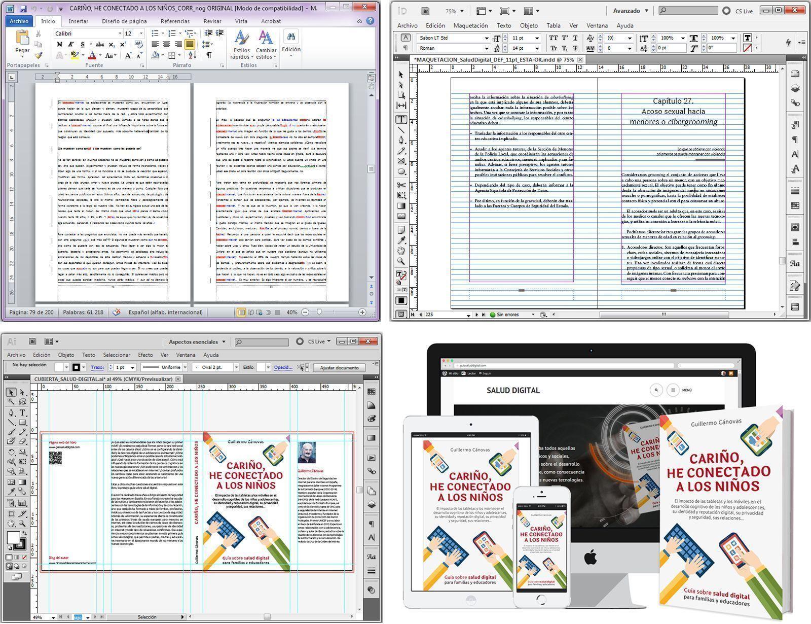 Editar y publicar son acciones diferentes
