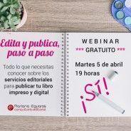 """Webinar gratuito: """"Edita y publica paso a paso"""""""