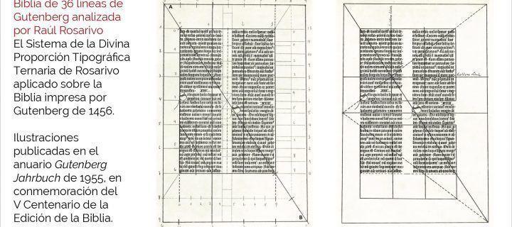 Raúl Rosarivo y el canon ternario en los libros renacentistas