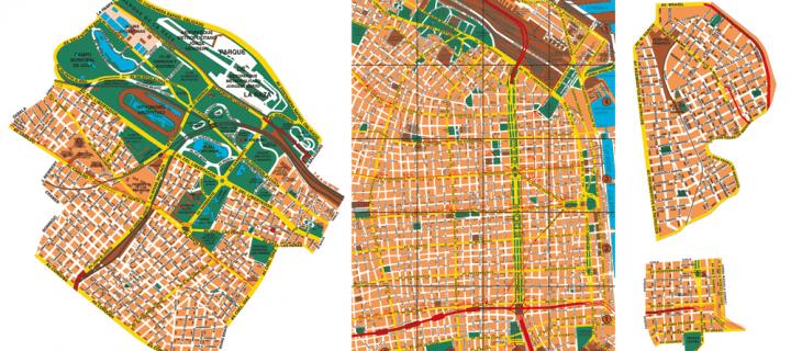 Mapas vectoriales de Buenos Aires en archivos PDF