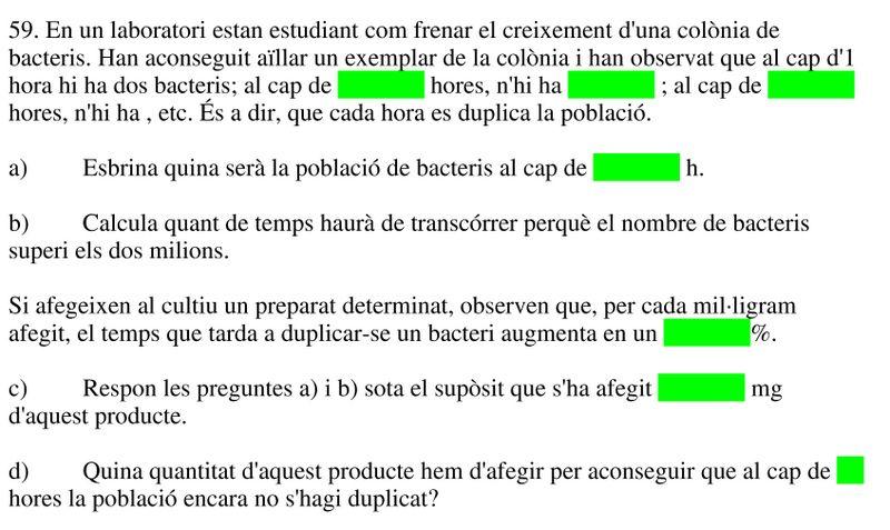Ejemplo del texto traducido al catalán para ser colocado en Indesign