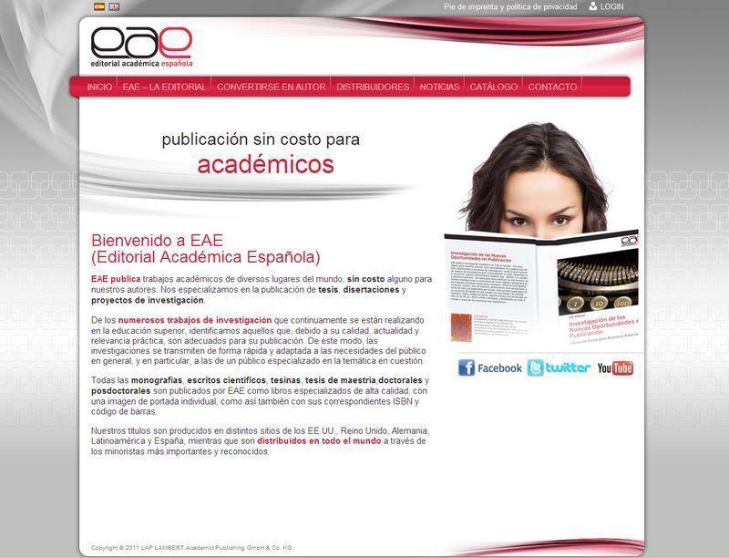 Captura de pantalla de EAE