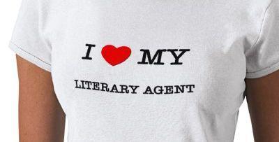 I love my literary agent