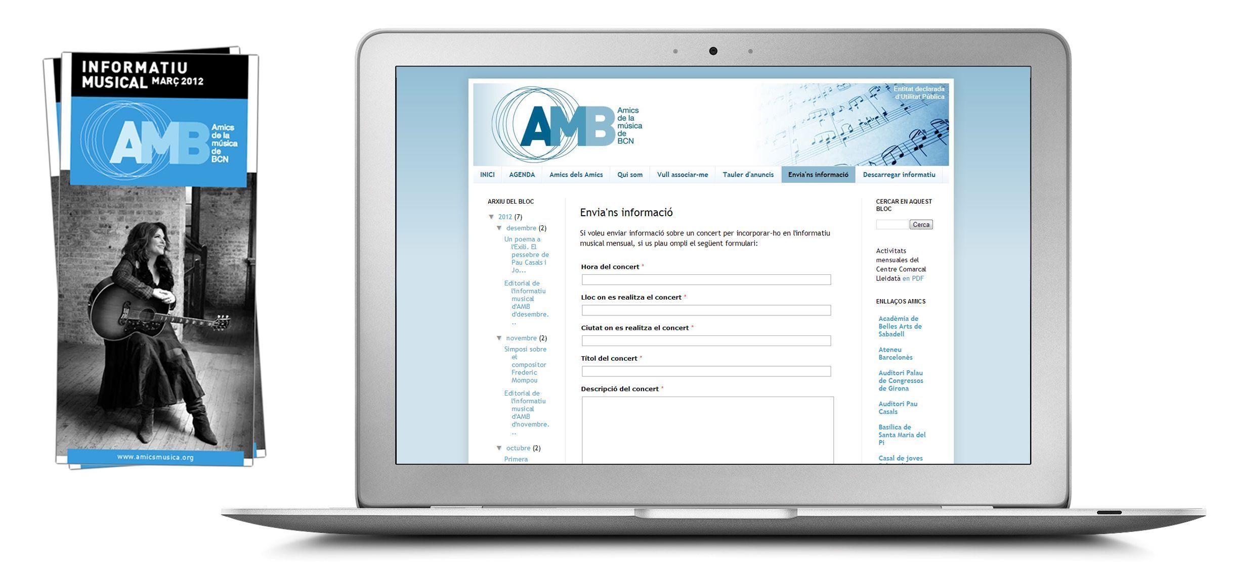 Ejemplo de edición institucional - AMB