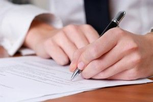 Firma contrato de edición