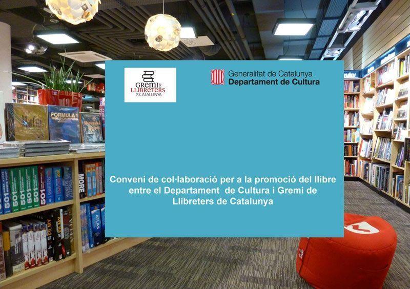 Convenio de colaboración entre bibliotecas y librerías para promoción del libro en Catalunya
