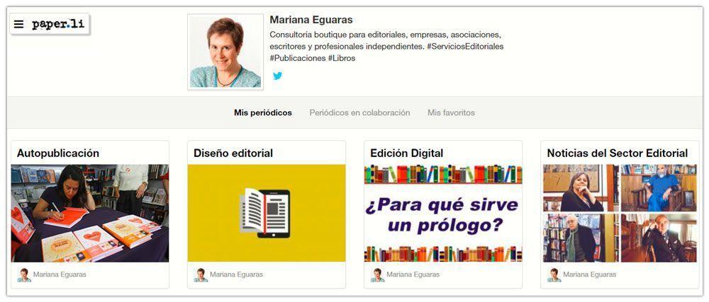 Periódicos de Mariana Eguaras en Paper.li