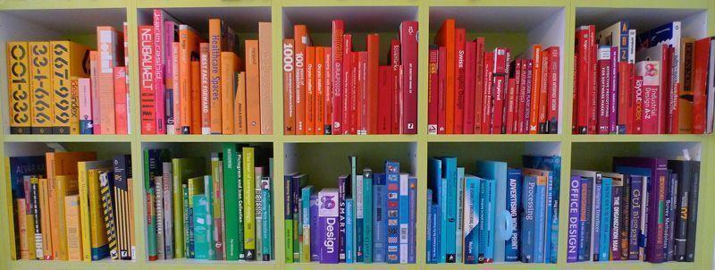Cubiertas de libros - colores