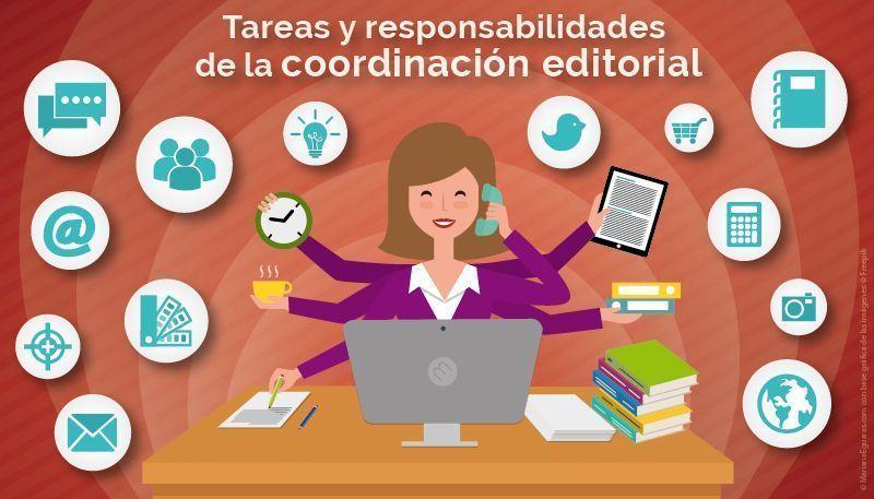 Coordinación editorial: tareas y responsabilidades