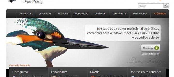 Inkscape, la mejor alternativa gratuita a Illustrator