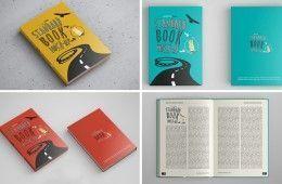 Consigue estos bellos mockups gratuitos de libros en rústica