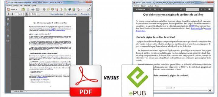 Por qué el formato PDF es mejor que el EPUB