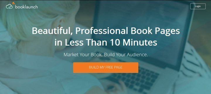 Booklaunch: cómo crear una página para tu libro (y salir del paso)