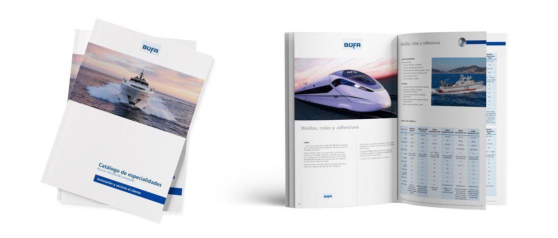 BÜFA - Catálogo de especialidades.