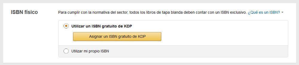 Cómo publicar un libro de tapa blanda con KDP de Amazon - ISBN