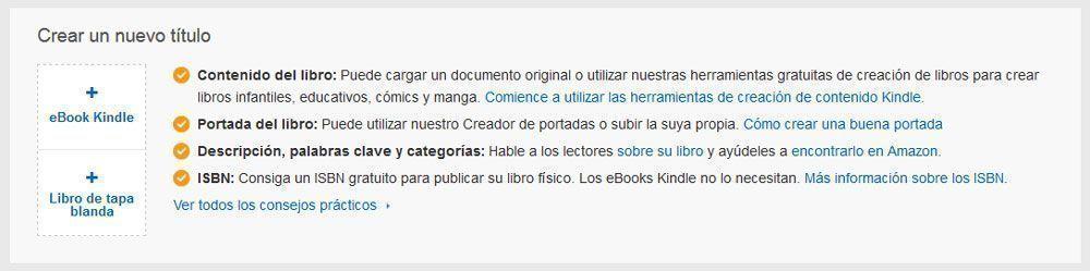 Cómo publicar un libro de tapa blanda con KDP de Amazon