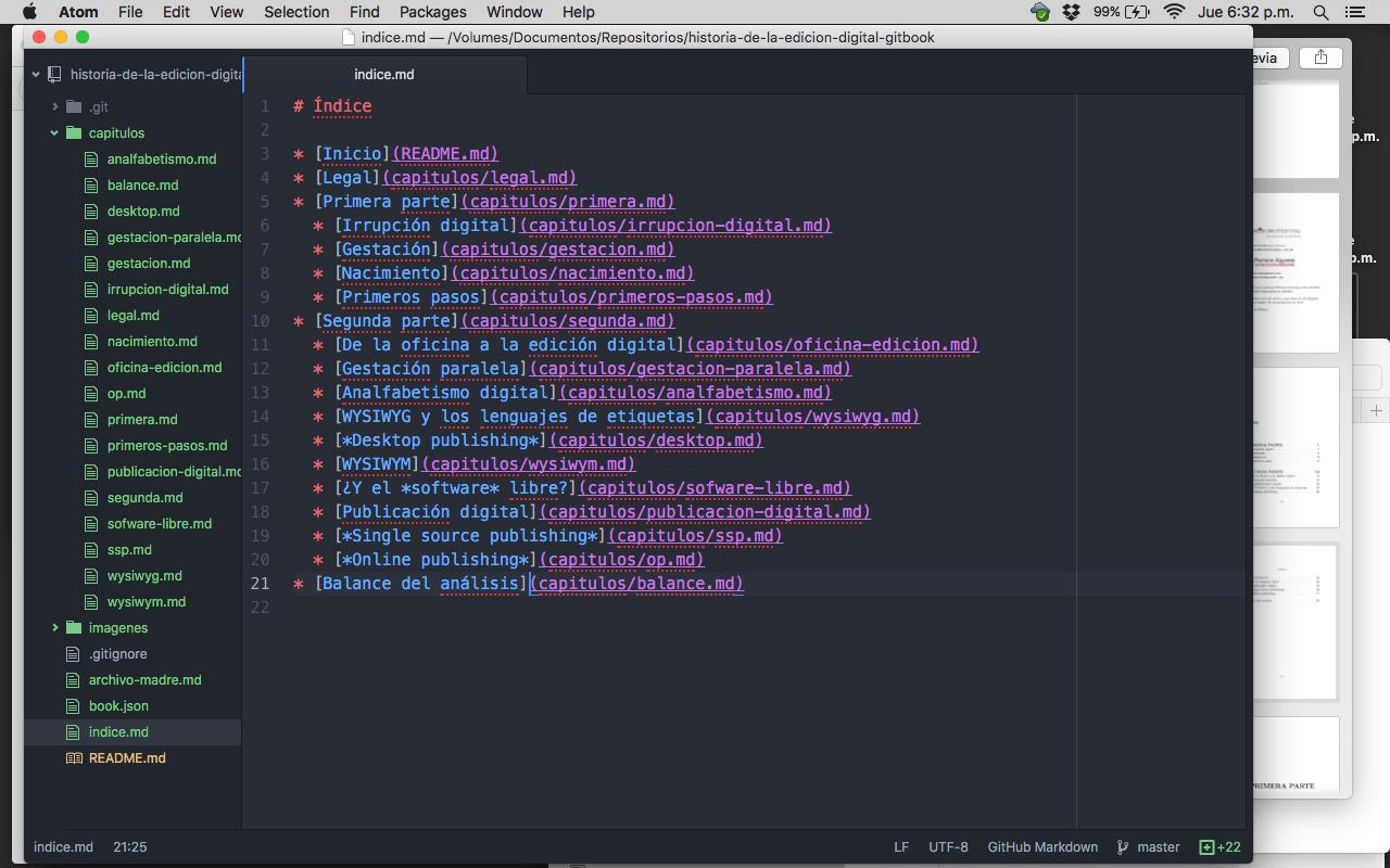 Cómo generar cuatro formatos de un contenido en un día - División del archivo madre, 18:32 h