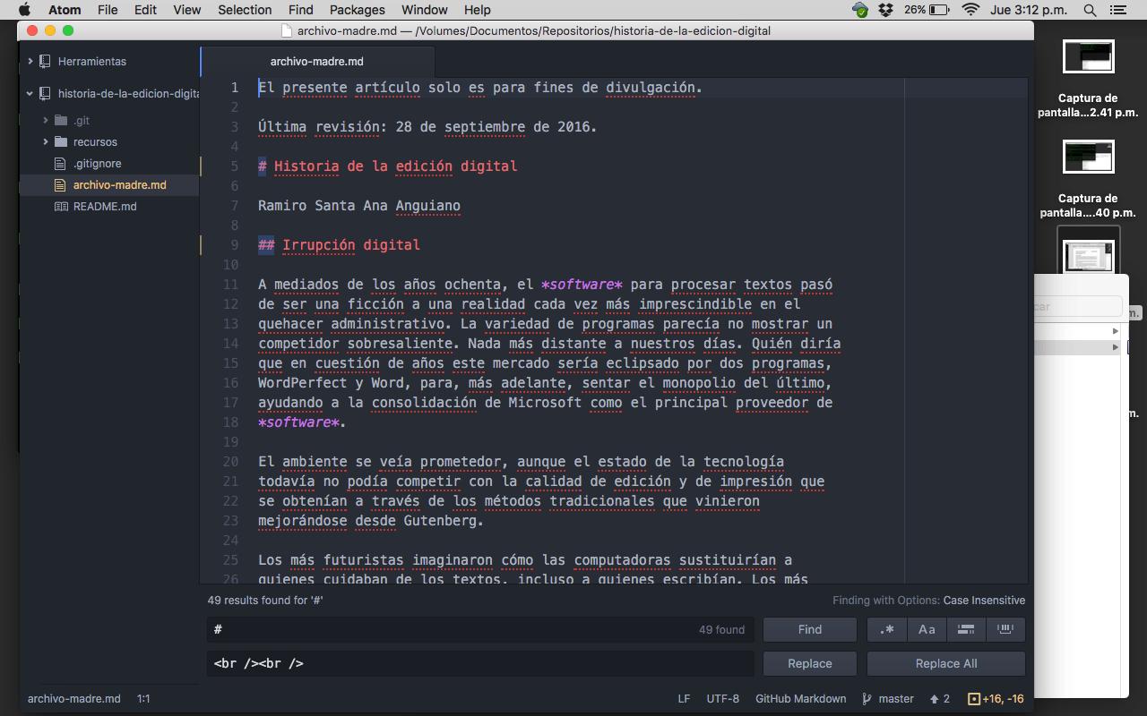 Cómo generar cuatro formatos de un contenido en un día - Revisión del archivo madre, 15:12 h