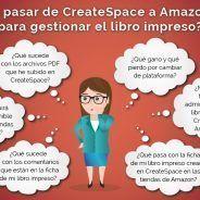 Cómo trasladar un libro impreso de CreateSpace a Amazon KDP