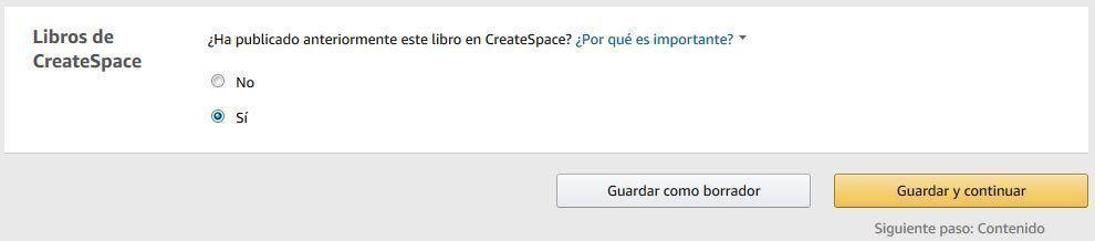 Cómo trasladar un libro impreso de CreateSpace a Amazon KDP - Libros de CreateSpace