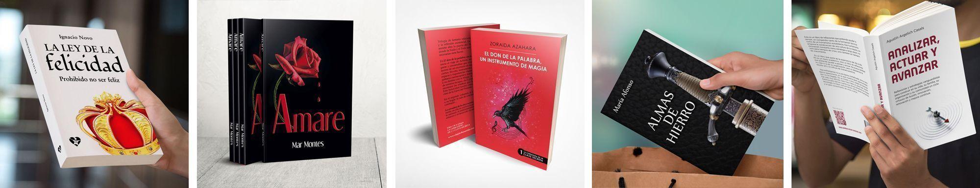 Publica tu libro en CreateSpace con nuestros servicios de calidad editorial