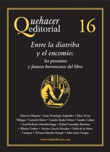Quehacer editorial 16