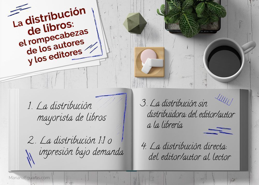 La distribución de libros impresos: el rompecabezas de los autores y los editores