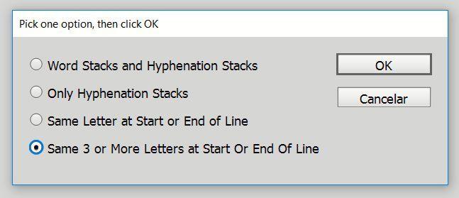 Cómo evitar repeticiones de caracteres en una maqueta con Smoke Word Stacks