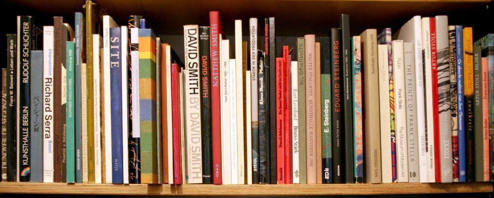 La orientación de los textos en el lomo del libro