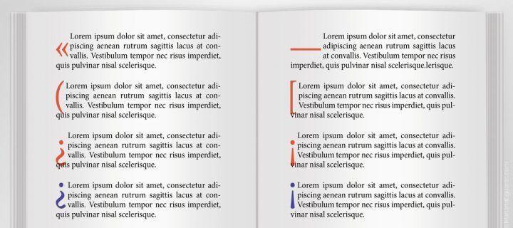 Qué hacer cuando el uso de capitulares presenta problemas en la edición de textos