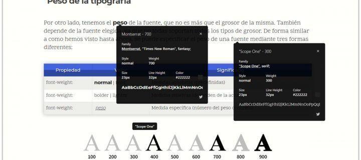 La tipografía en los blogs y cómo evitar problemas oculares por leerlos