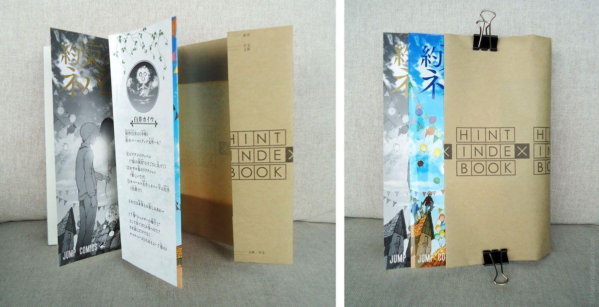 Manga mostrando cubierta, sobrecubierta y forro