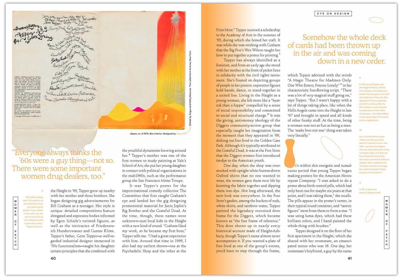 "Eye on Design, Eye on Design, Issue #02 ""Psych""."