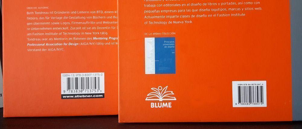 Libro coeditado con diferente ISBN