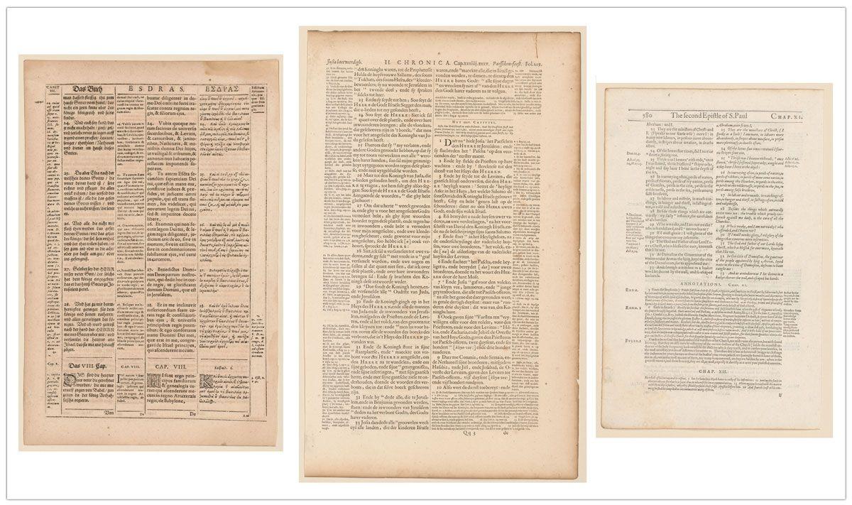 Imágenes de Original leaves from famous Bibles: nine centuries, 1121-1935 A.D. de Otto F. Ege (1938).