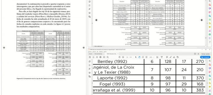 Cómo interpretar lo que vemos en un PDF para un libro (y no desesperar)