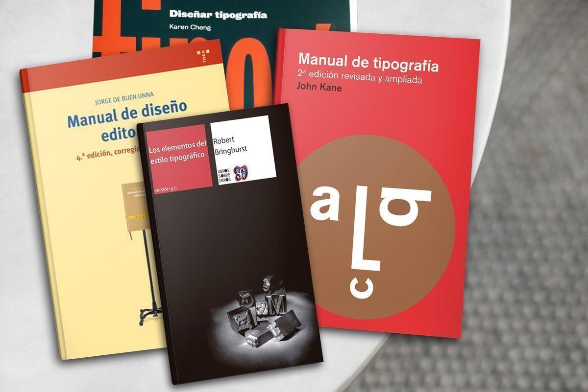 Aprender sobre tipografía con libros y cursos para componer publicaciones
