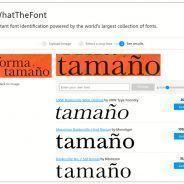 Cómo identificar tipografías o fuentes para usarlas en nuestros proyectos