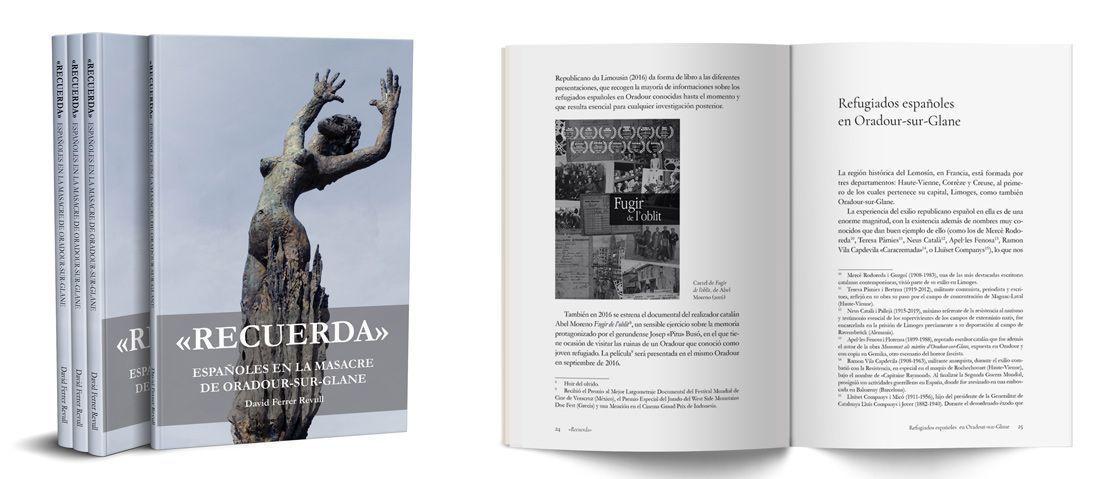 """""""Recuerda - Españoles en la masacre de Oradour-sur-Glane"""", de David Ferrer Revull"""