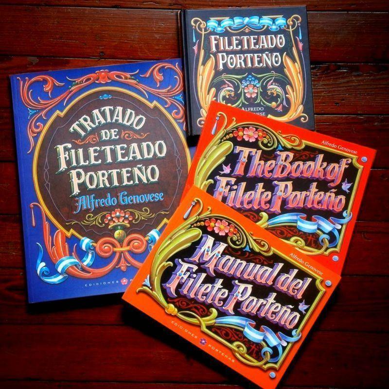 Lettering - Fileteado porteño