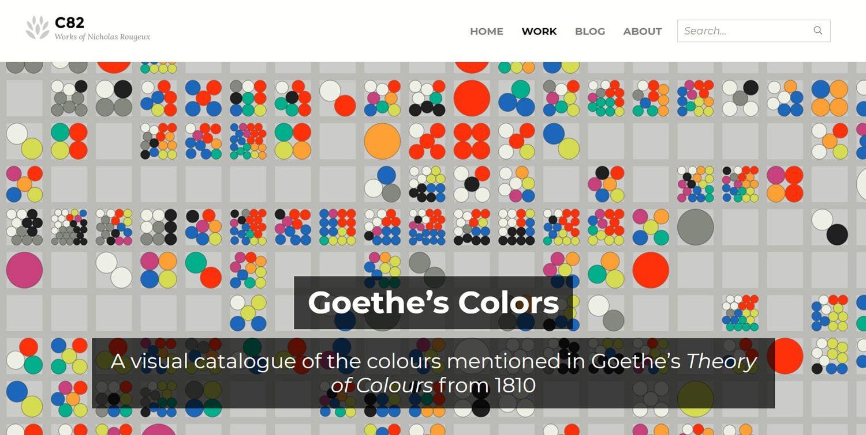 Goethe's Colors