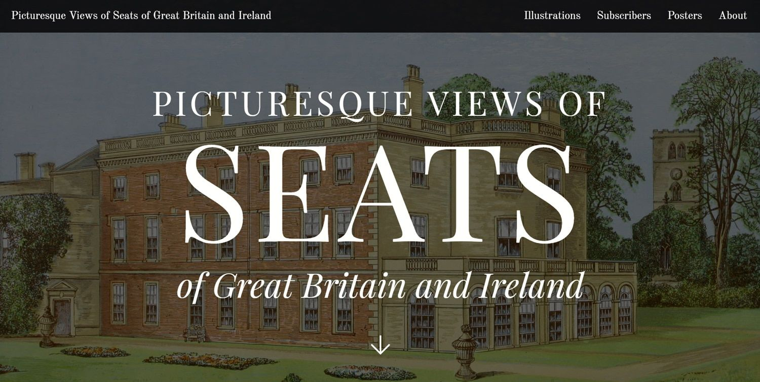 Picturesque Views of Seats of Great Britain and Ireland
