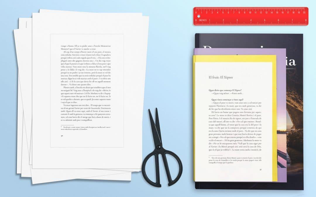 Cómo hacer una prueba de impresión de tu libro antes de maquetar (en casa y por dos duros)