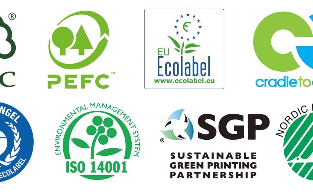 Certificaciones medioambientales en el ámbito de las artes gráficas